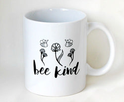 Bee Kind Ceramic Tea Coffee Mug