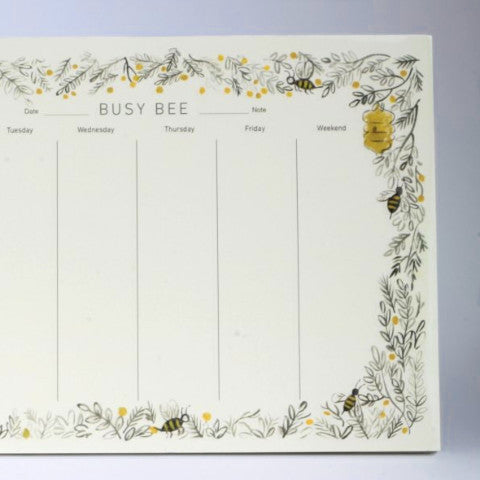 Busy Bee Planner from Quill & Fox