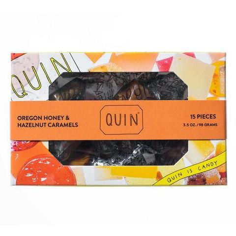 QUIN Oregon Honey & Hazelnut Caramels