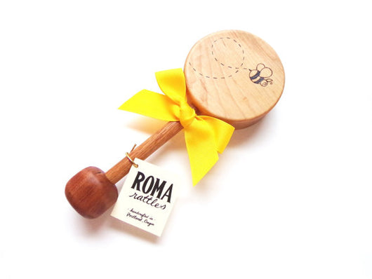Honey Bee Rattle from Roma Rattles
