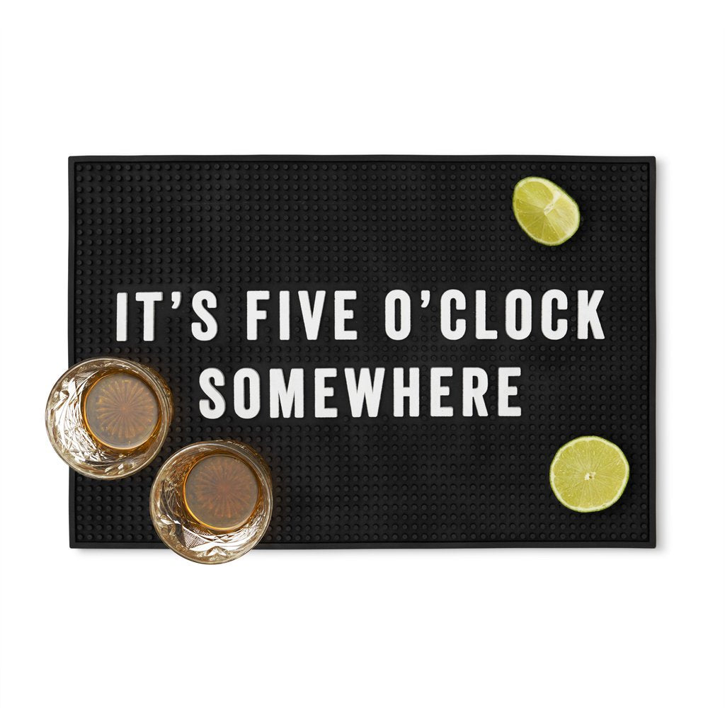 Five O'clock Somewhere Bar Mat