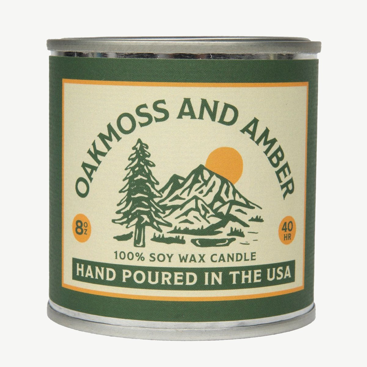 Oakmoss and Amber Candle