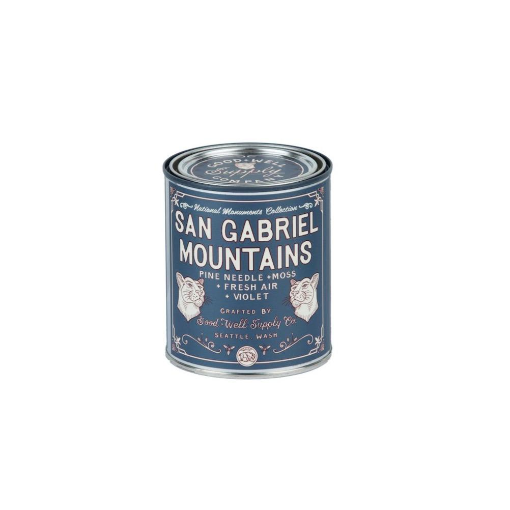 SAN GABRIEL MOUNTAINS - NATIONAL MONUMENT CANDLE Pint