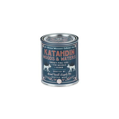 KATAHDIN WOODS & WATERS - NATIONAL MONUMENT CANDLE Pint