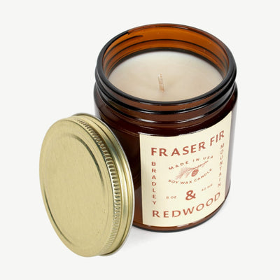 Fraser Fir & Redwood Candle