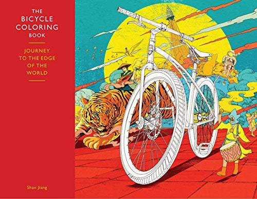 Bicycle Coloring Book