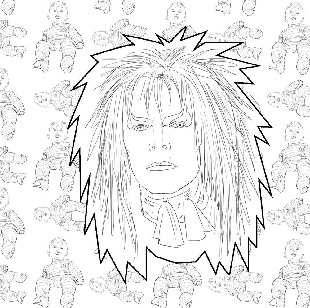 David Bowie Retrospective And Coloring Book Utility Goods