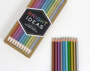Bright Ideas Metallic Pencils