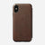 Rugged Folio - iPhone XS Max - Rustic Brown
