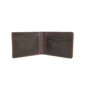 No. 9 Wallet - Mahogany