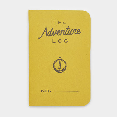The Adventure Log - Yellow (3 Pack)