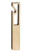 Less Is More Brass Bottle Opener