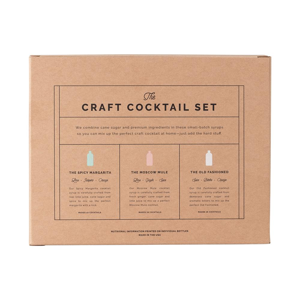 The Mini Craft Cocktail Set - 3-Pack Set