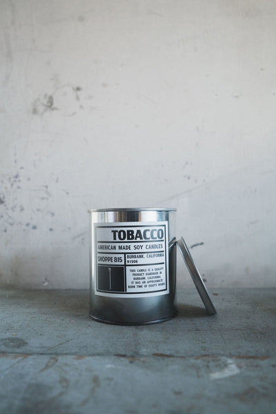 Tin Candle - Tobacco