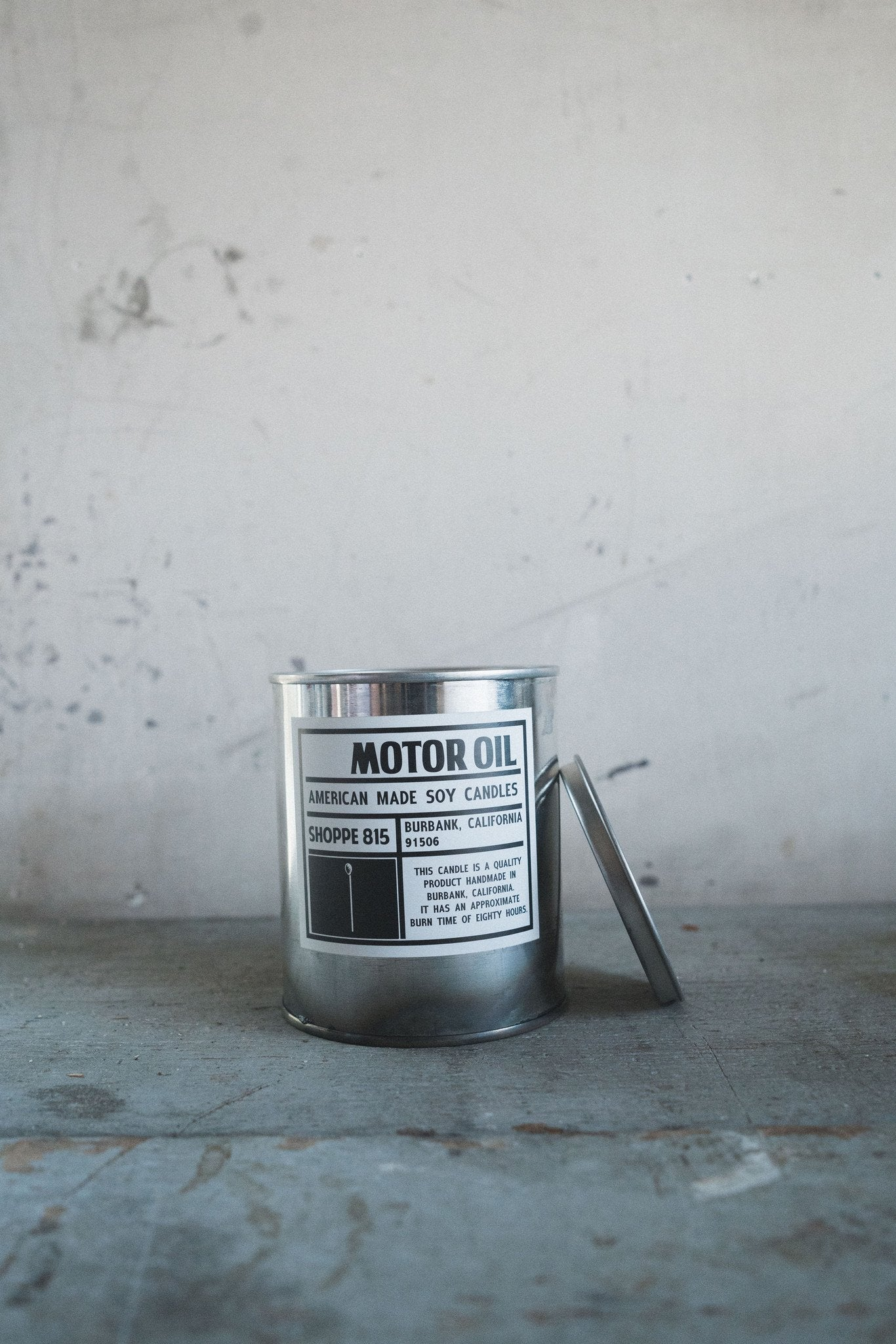 Tin Candle -  Motor Oil