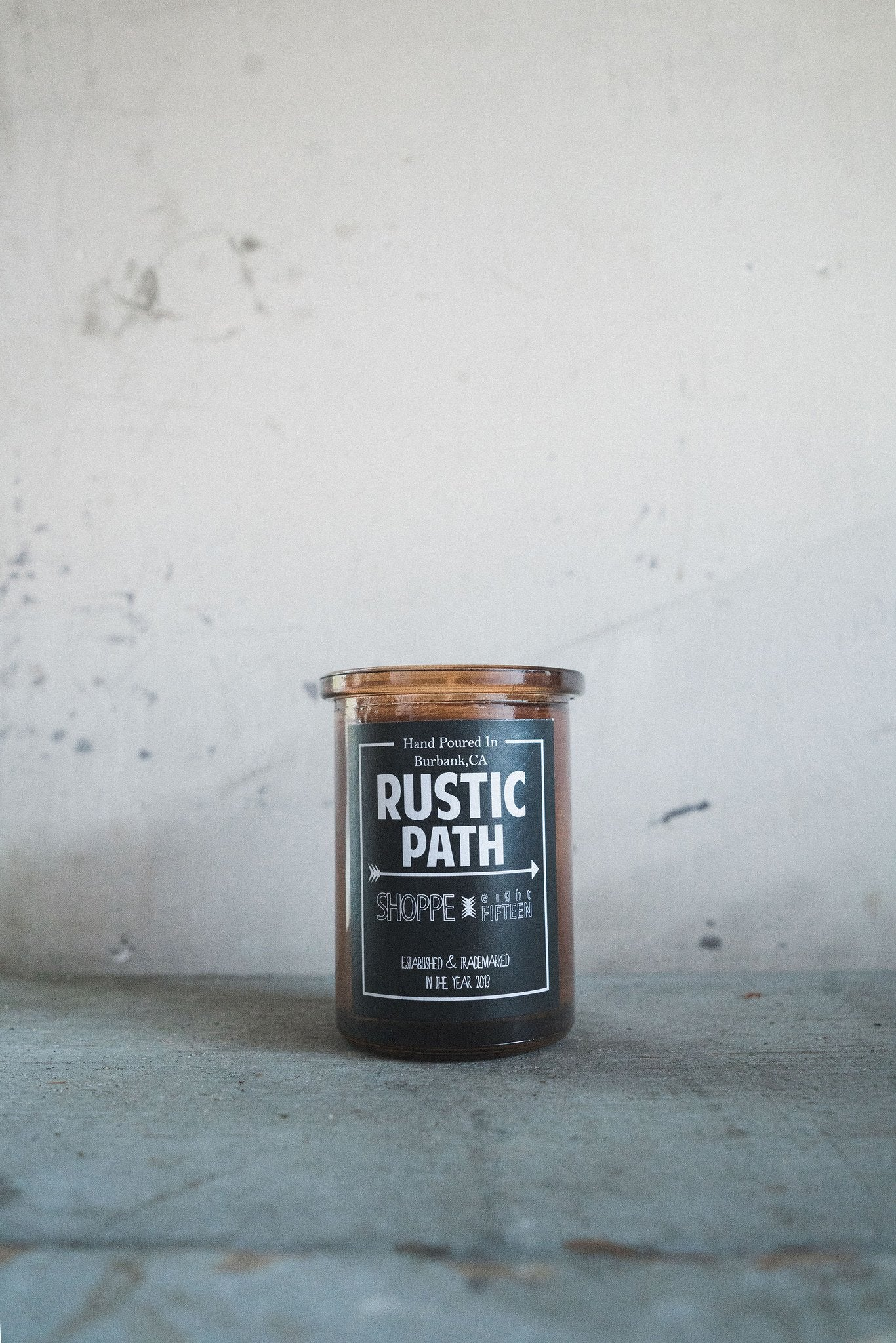 Rustic Path Candle