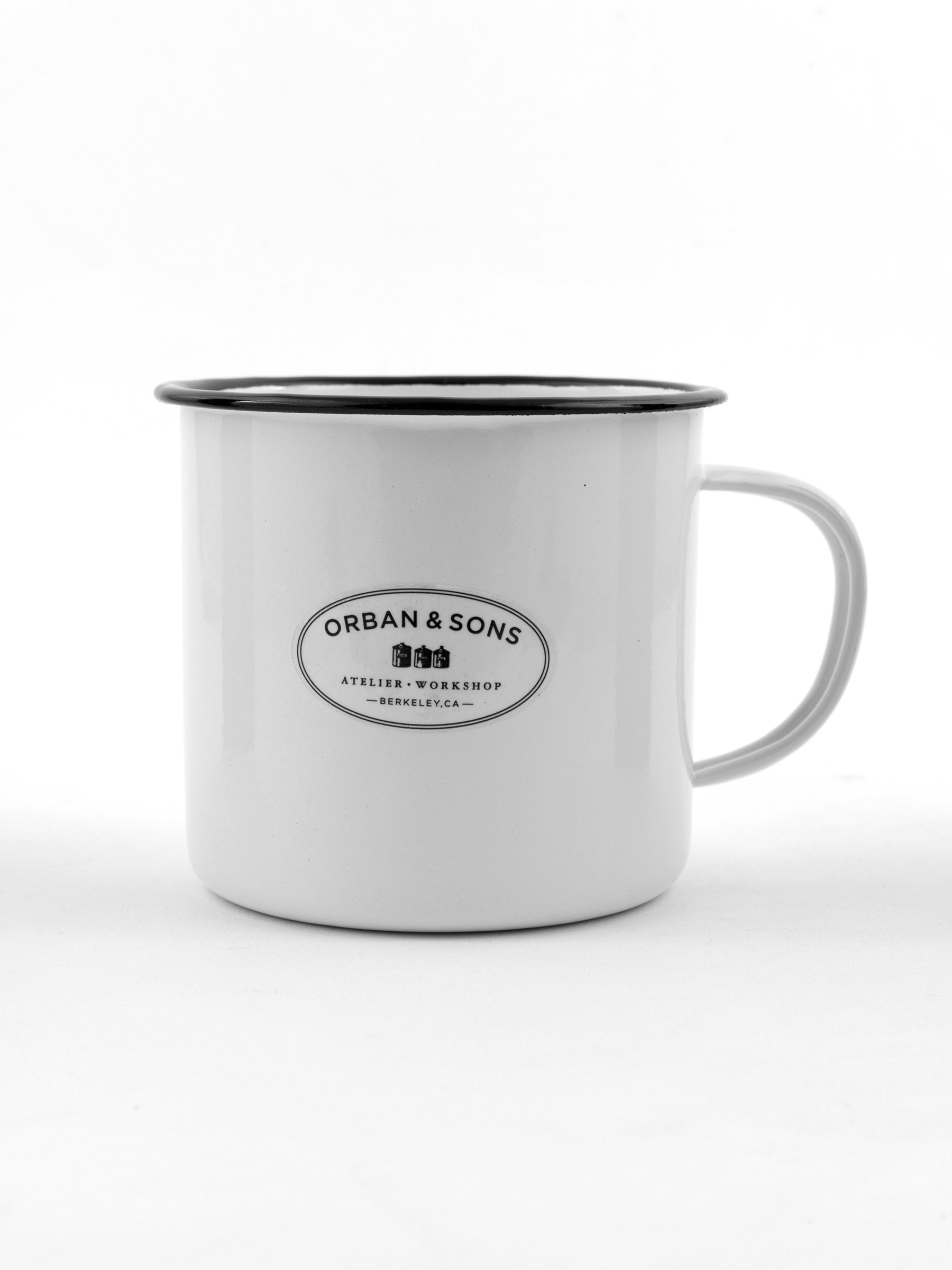 ENAMEL MEDIUM MUG