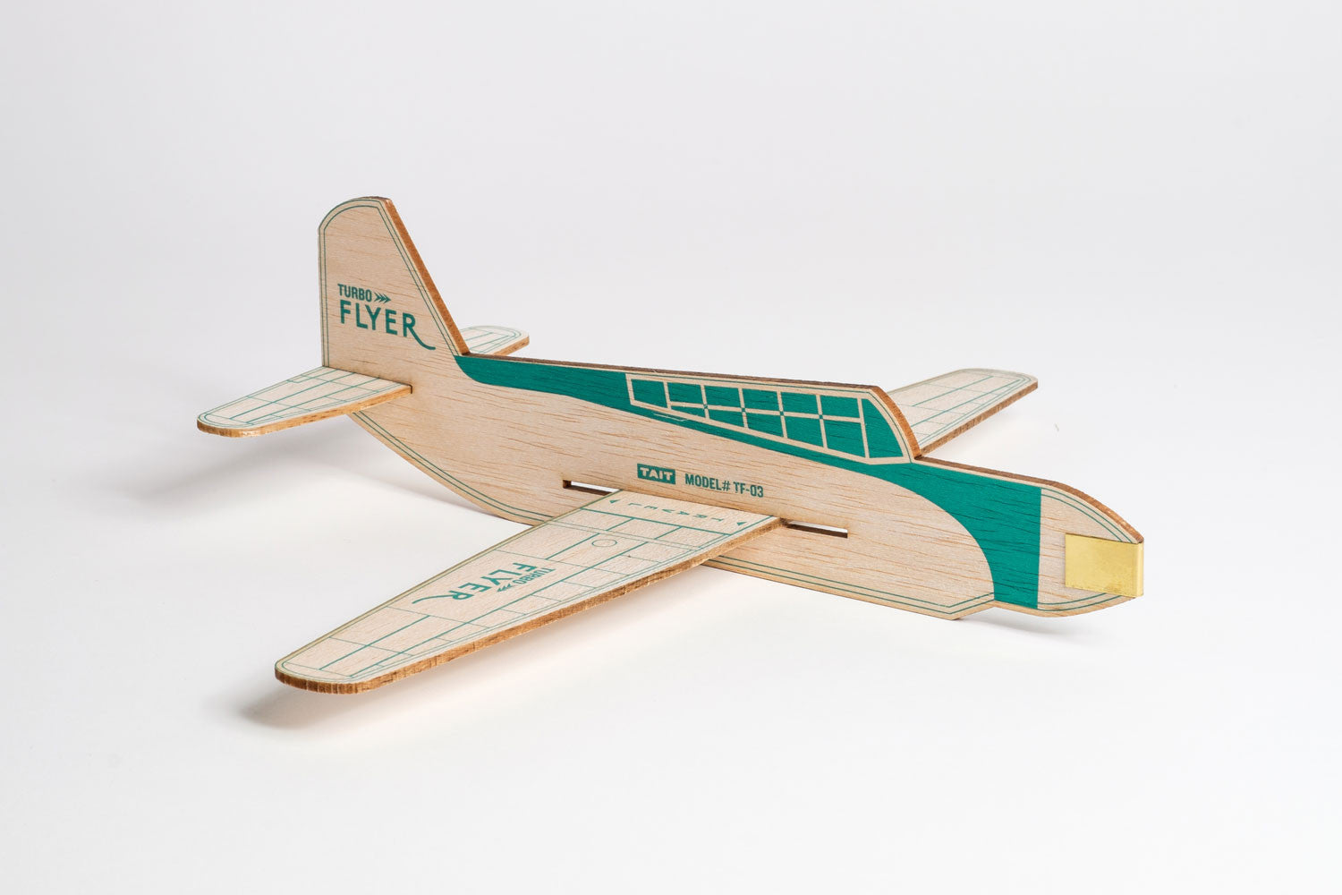 Turbo Flyer - Emerald Green
