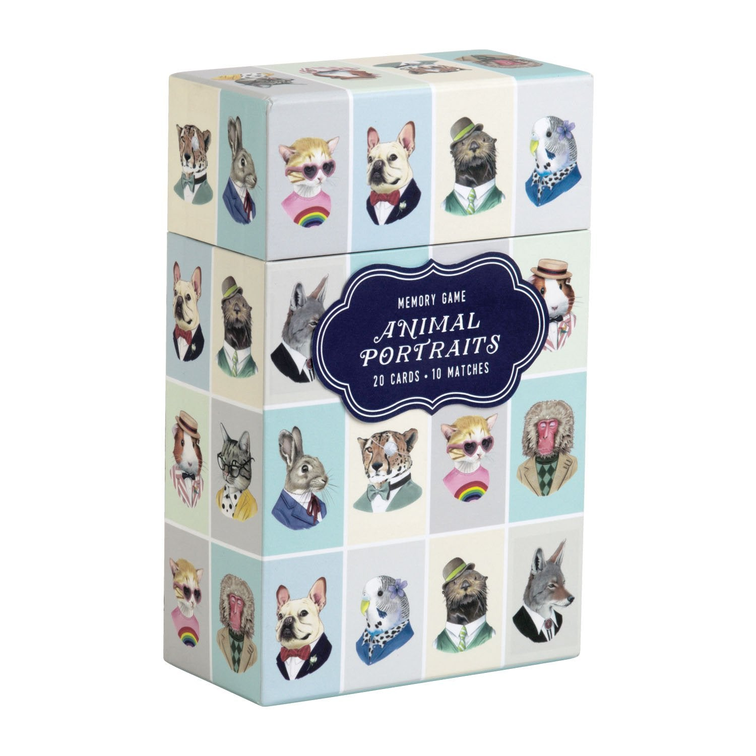 Berkley Bestiary Animal Portraits Memory Game