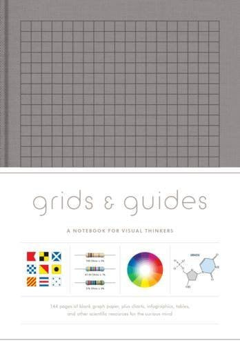 Grids & Guides: A Notebook for Visual Thinkers - Gray
