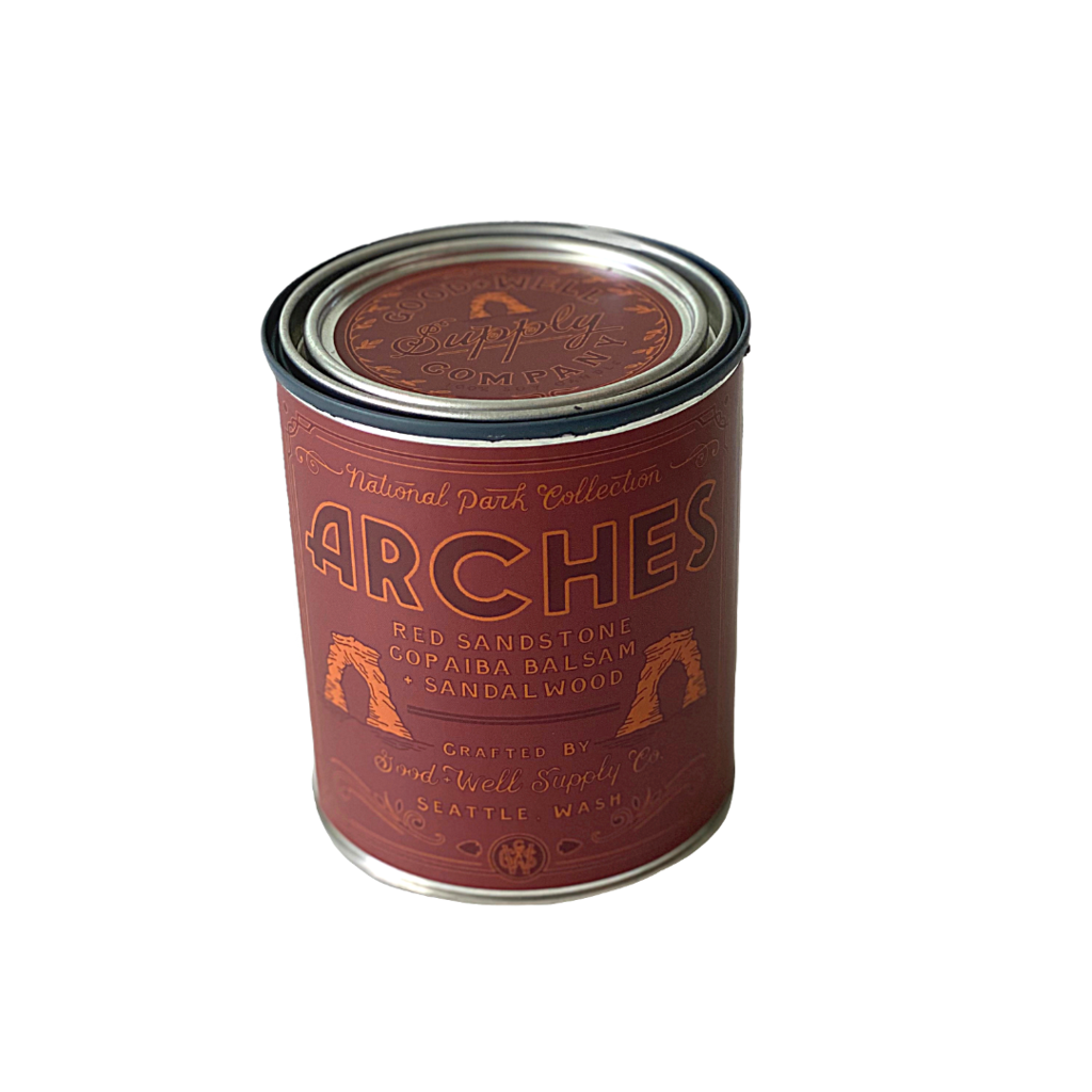 Arches National Park Candle