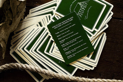 Camp Cards - Ranger Green