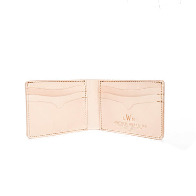 No. 9 Wallet - Natural