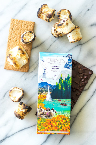 Campfire S'Mores - Dark Chocolate S'Mores Bar