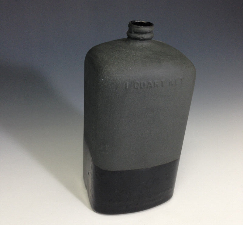 Ceramic Motor Oil Bottle