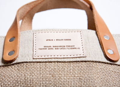 City Series Market Bag - Natural - Marin