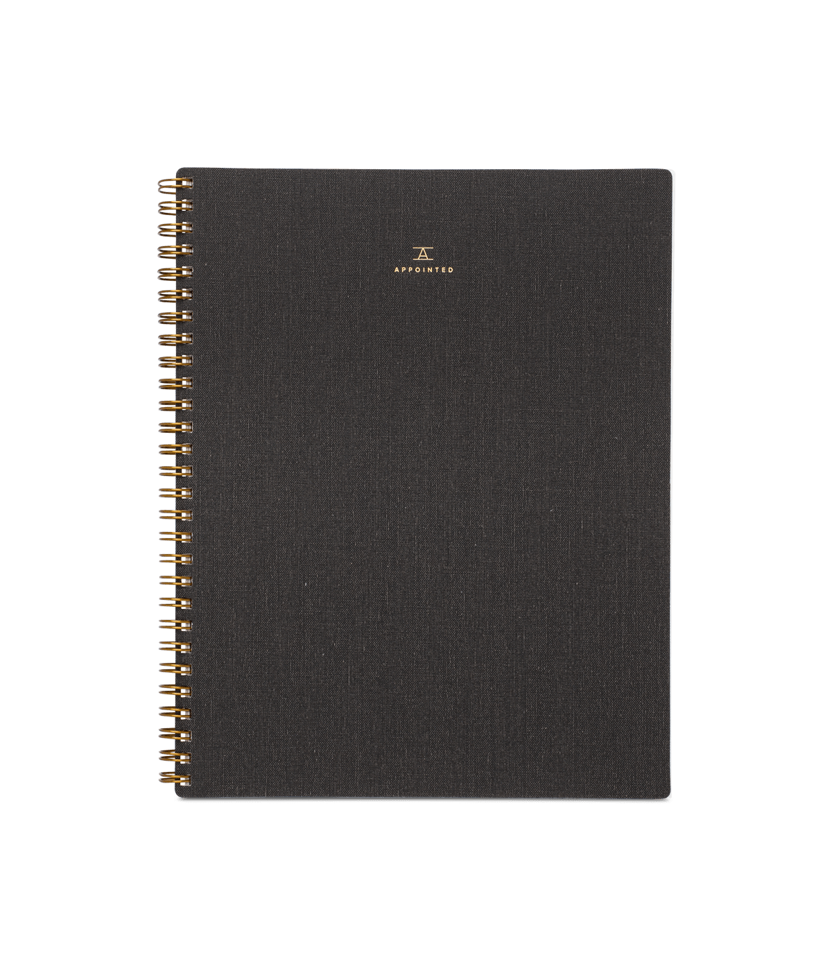 Notebook - Charcoal Grey (Grid)