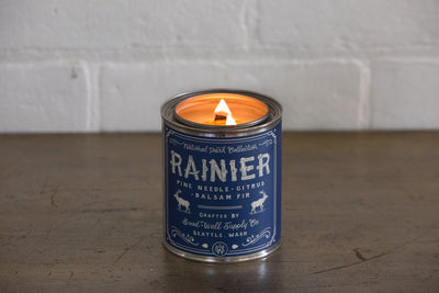 Rainier National Park Candle