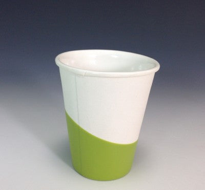 Ceramic + Rubber Paper Cup - Mint