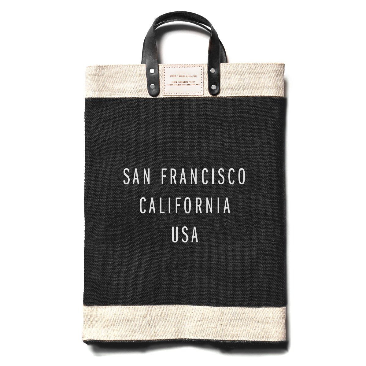 City Series Market Bag - Black - San Francisco