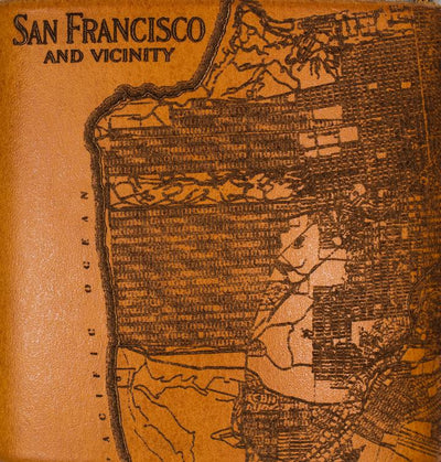 San Francisco Map Flask