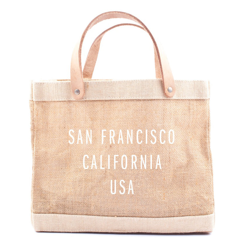 City Series Lunch Bag - Natural - San Francisco