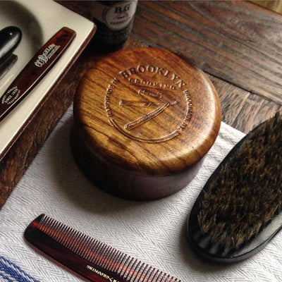 SHAVING BOWL AND SOAP SET