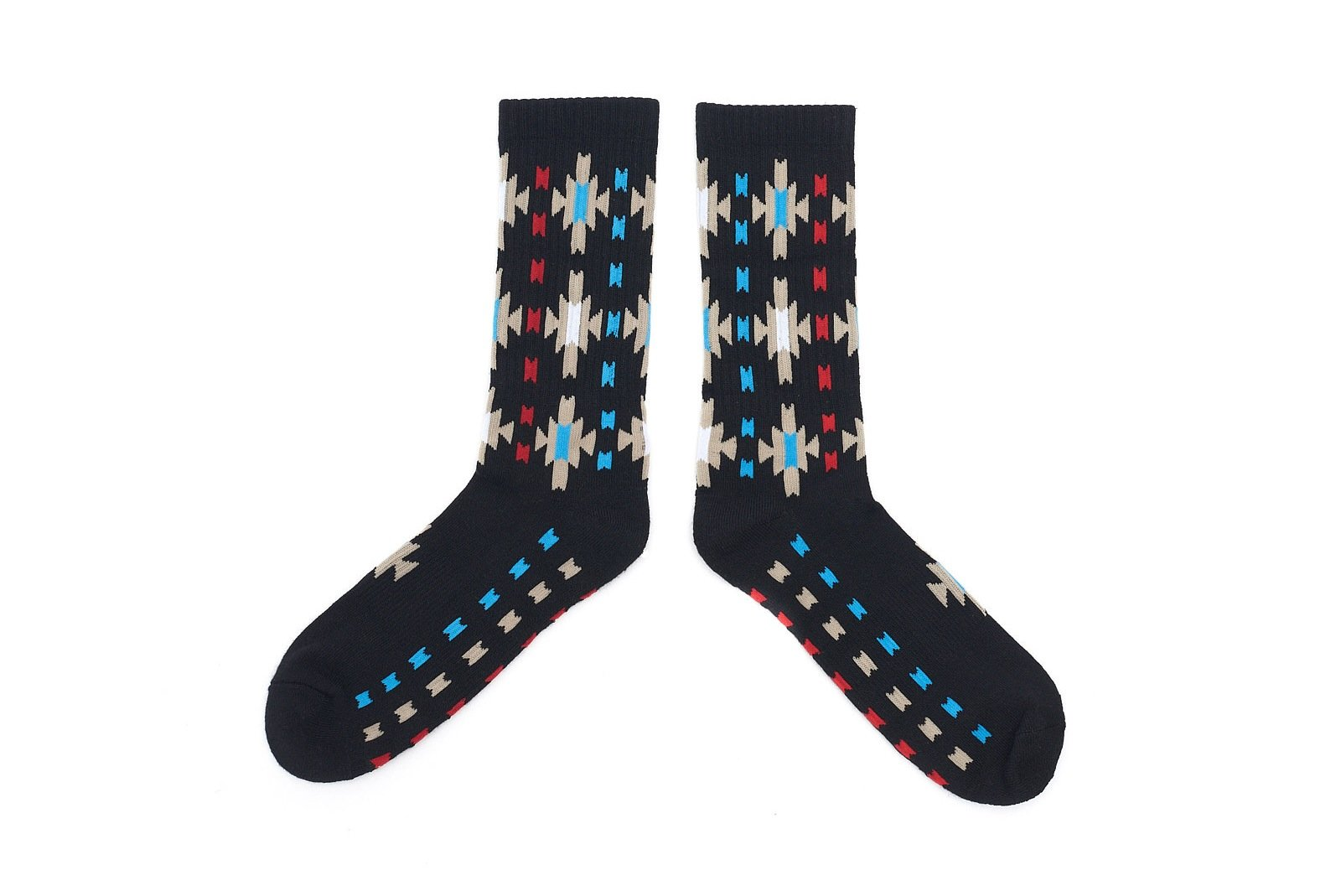 Starburst Socks - Black
