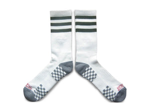 Stripes Socks - Olive