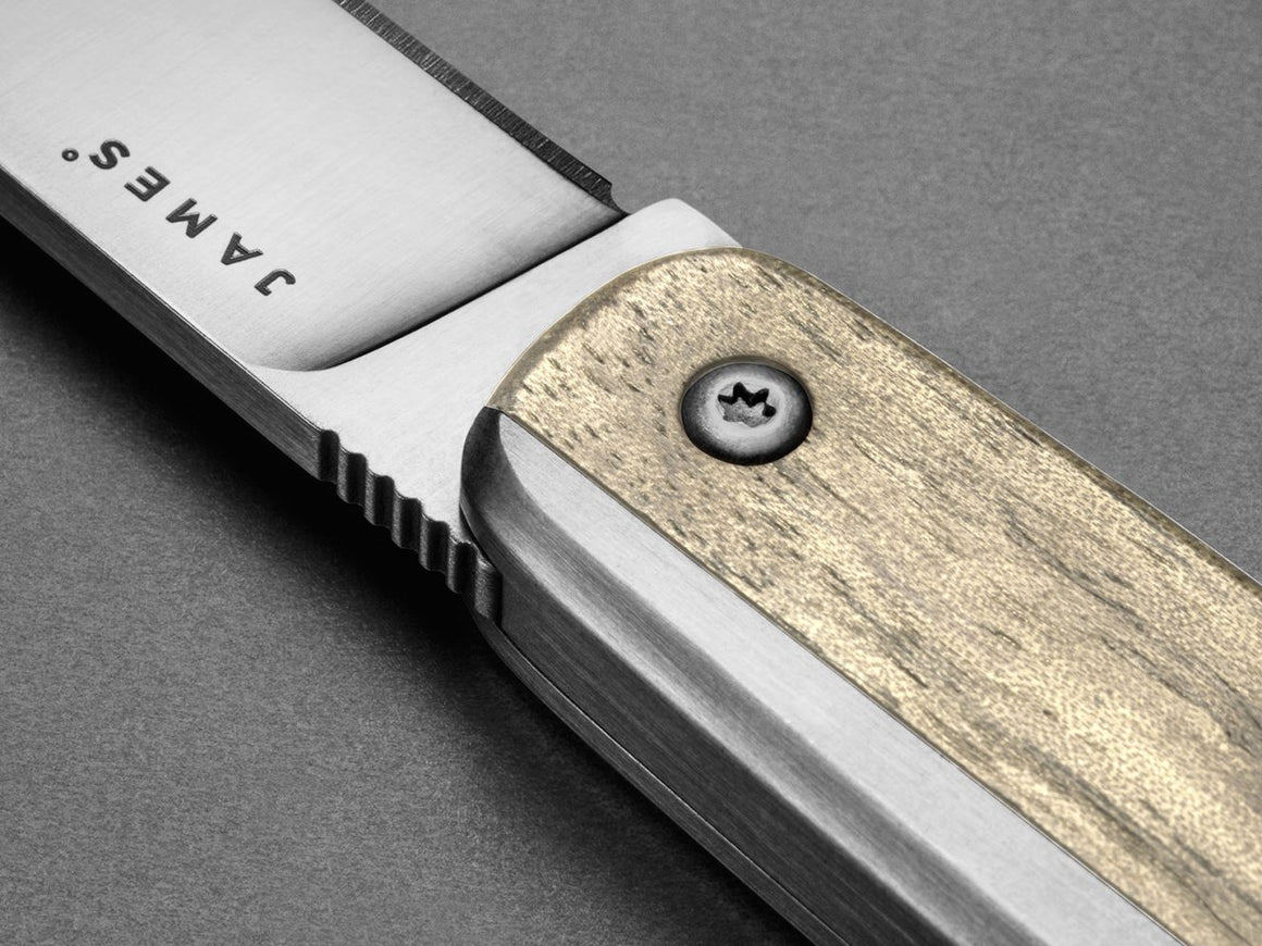 The County ‑ White Oak + Stainless