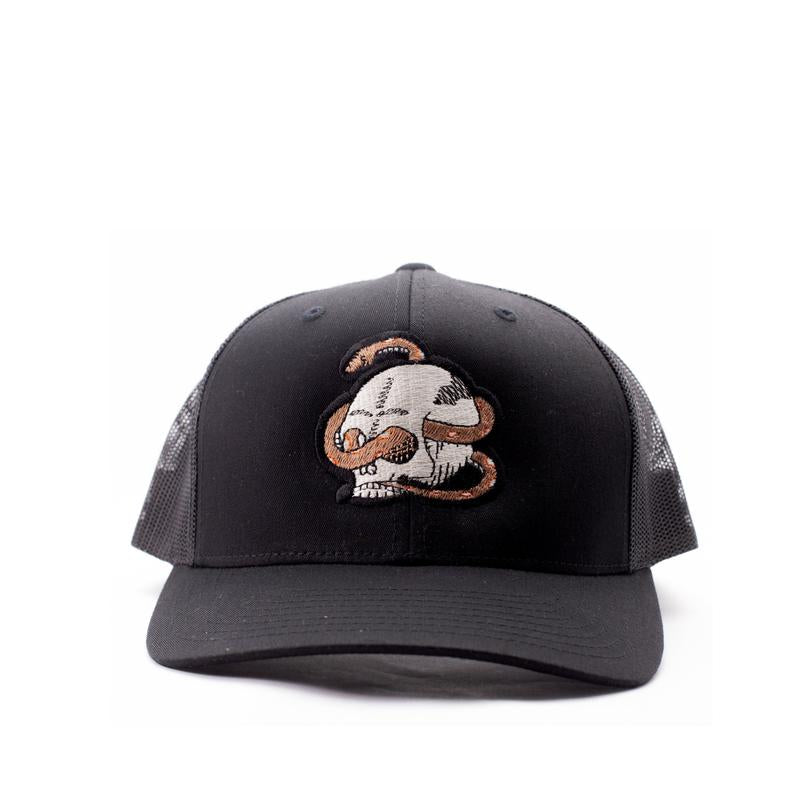 "THE ""EVAN"" SKULL AND SNAKE HAT"