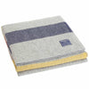 Revival Stripe Wool Throw - Gray