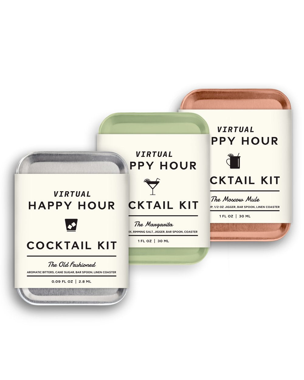 The Virtual Happy Hour Cocktail Set