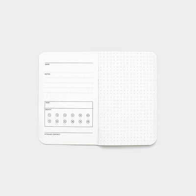 Word. Notebooks - White Dot Grid (3 Pack)
