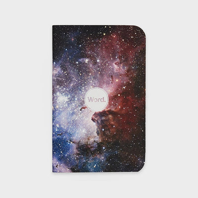 Word. Notebooks - Intergalactic (3 Pack)