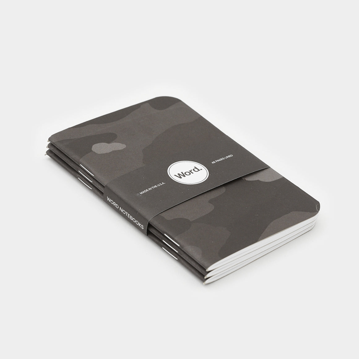 Word. Notebooks - Stealth Camo (3 Pack)
