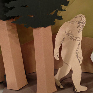 Bigfoot Sasquatch Card