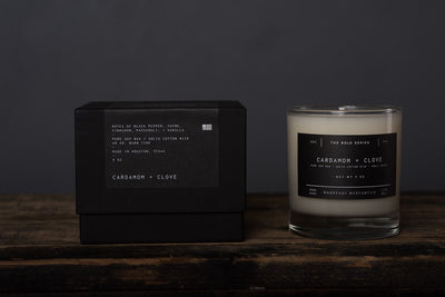 The Bold Series Soy Candle - Cardamom + Clove