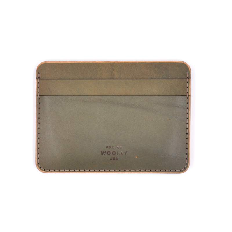Olive Half Wallet #21 (Character Series)