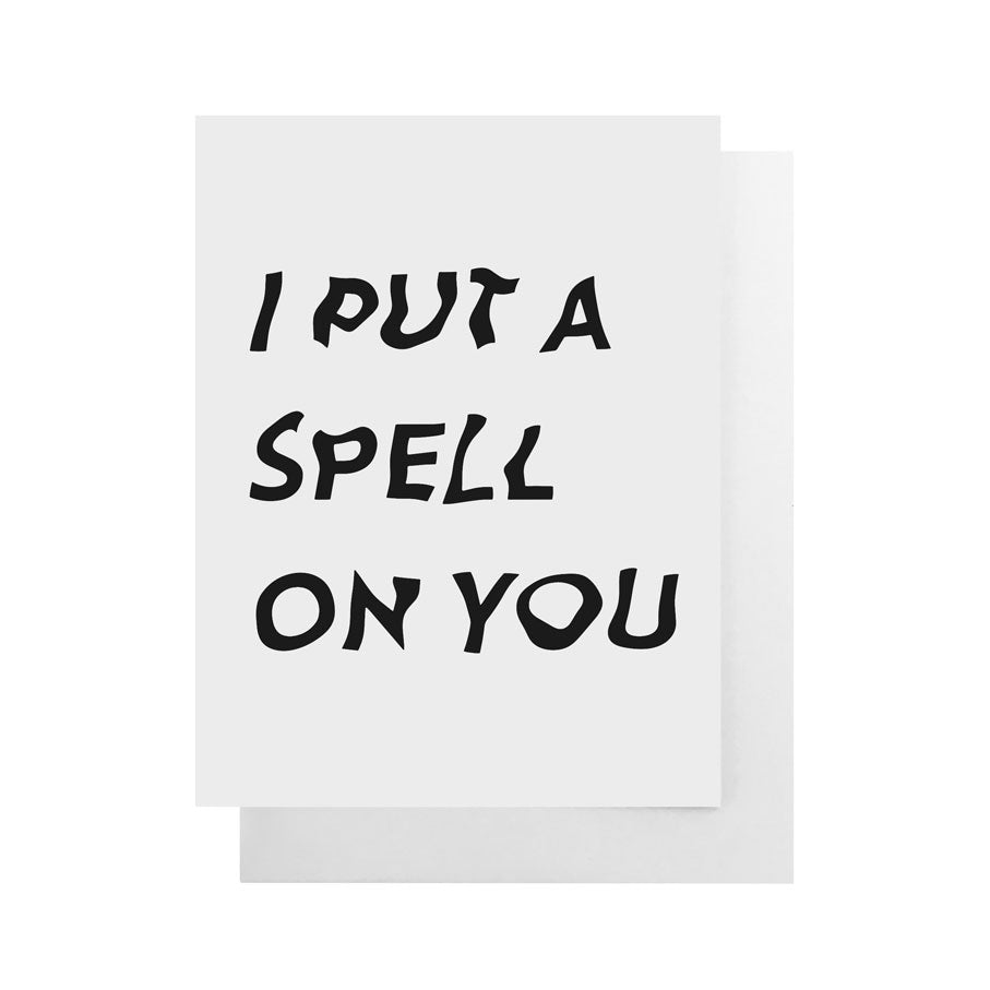 I Put a Spell On You Card